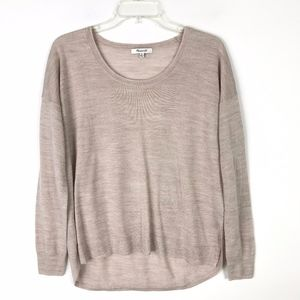 Madewell Southstar Knit Relaxed Sweater #1510